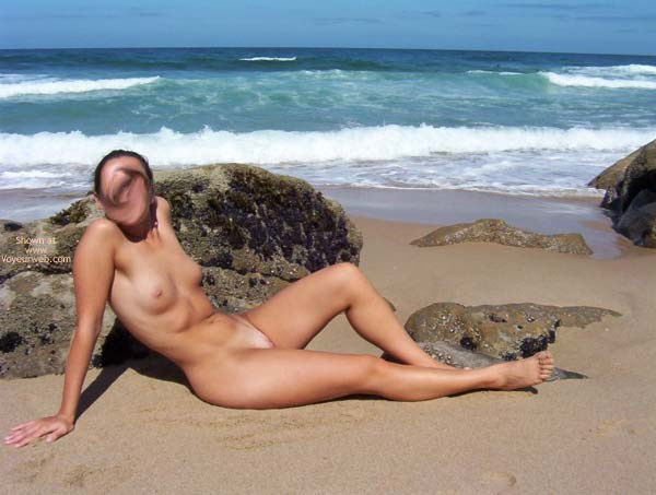 Pic #1 A&G On A Portugal Beach #2