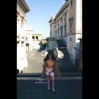 Angela tra Foro Romano e Campidoglio