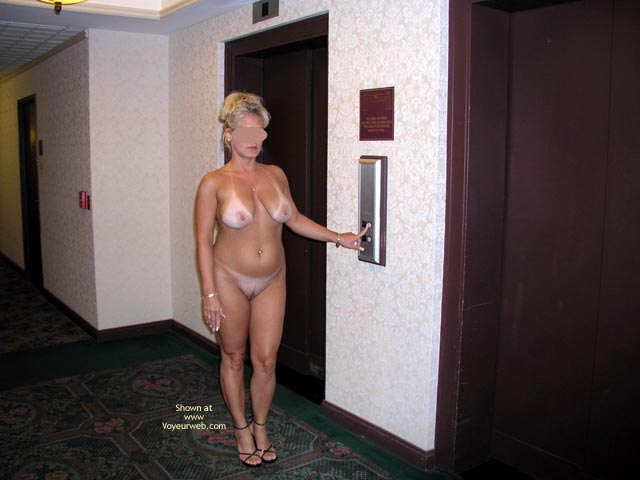 Naked In Public - Full Frontal Nudity, Nude In Public, Tan Lines , Naked In Public, Tan Lines, Inside Hotel, Getting In Elevator, Tanlines, Nude By Elevator, Frontal Shot, Naked By Elevator