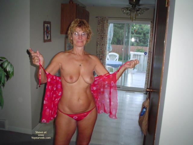 Pic #1 57 Year Old Canadian Wife At Home