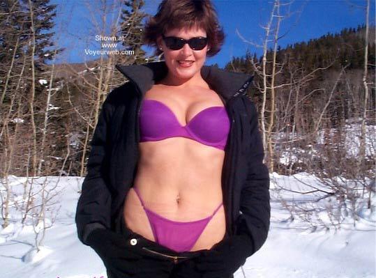 Pic #1SassyWife Snowtime