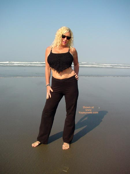 Pic #1 Ashley On The Beach