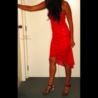 Maree's Red Dress