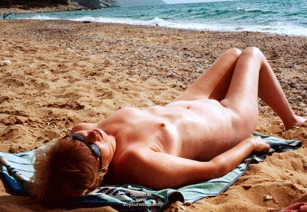 Pic #1 Naked On The Beach