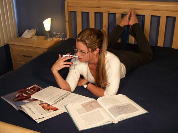 Pic #1 Nikki ;)~ Studying 1