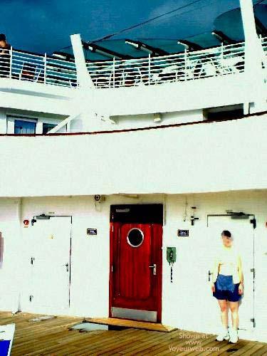 Pic #1 *PN SueBee On a Deck Far Away