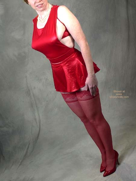 Pic #1 Liz Red Outfit 9