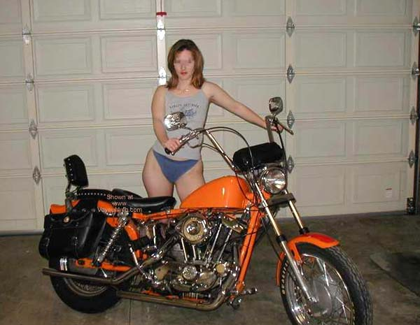 Pic #1 Luv2bnude and The Harley