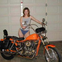 Luv2bnude and The Harley