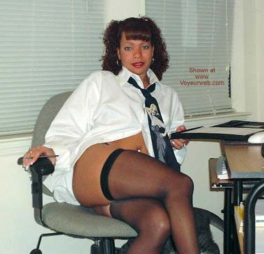Pic #1 Raven Does The Office Thingy
