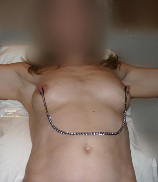 Pic #1 Flasherbeth Makes Her Nipples Hard