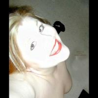 *SC Hanna Wearing Red Lipstick