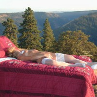 White Stockings - Stockings , White Stockings, White Heels, Outdoor Self Pleasure, In Bed Outdoors