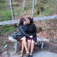 *GG Tiziana in Germany With Her Friend