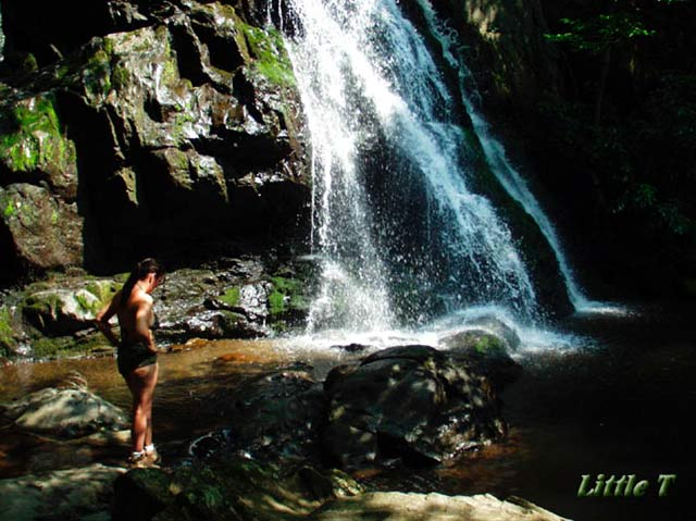 Pic #1 Little T at Waterfall