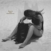 Sara At Beach Part 2