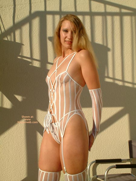 Pic #1 Goldengel 3 In White Lingerie