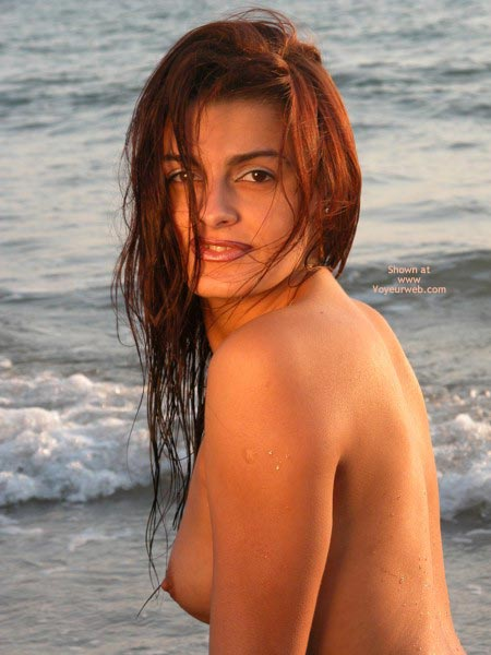 Topless On Beach - Topless Beach , Topless On Beach, Penelope Cruz Look-a-like