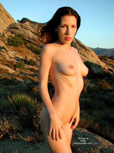 Pic #1 Jenla in The Great Outdoors