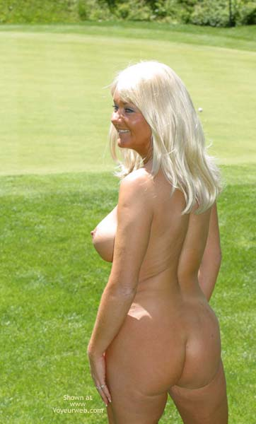 Pic #1 Marcia On The Golf Course