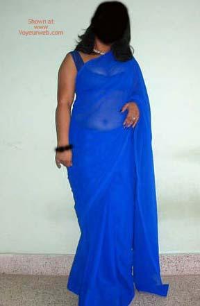 Pic #1 Big Boob Indian Girl Saree Strip!