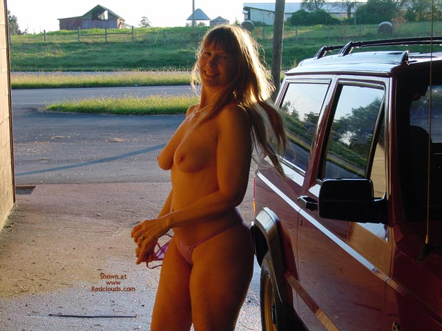 Pic #1Purple Patty Nude Jeep Wash