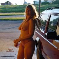 Purple Patty Nude Jeep Wash