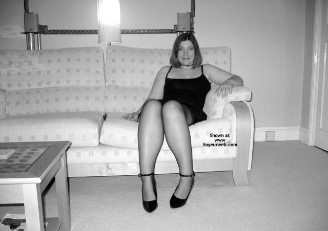 Pic #1 Black Stockings