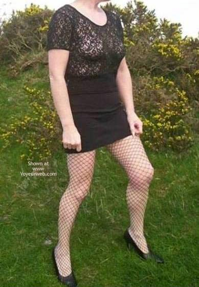 Pic #1 Jane In Fishnet Tights