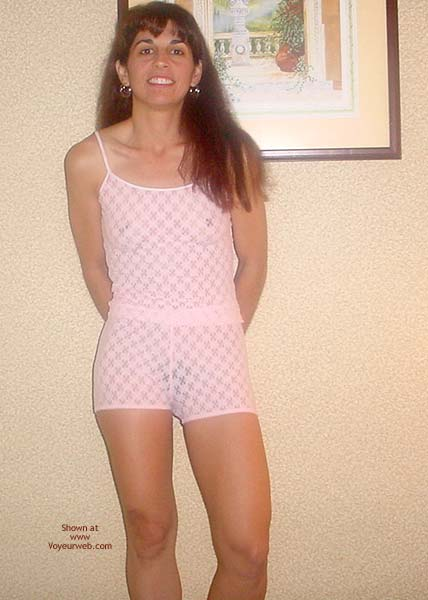 Pic #1 Brunette in Pink