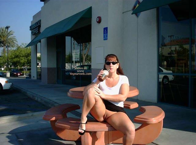 Pic #1 SuzyQ @ Starbucks!