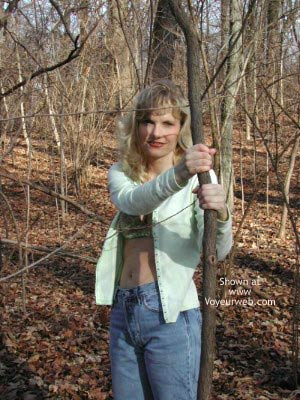Pic #1 Paige in The Woods