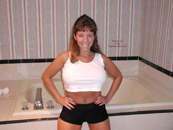 Pic #1 *PA Hotwife Heather's Wet T-Shirt Contest