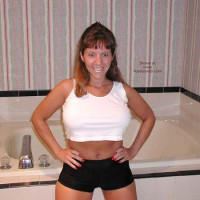*PA Hotwife Heather's Wet T-Shirt Contest