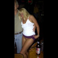 *NP Flashingal Pantyless in Public