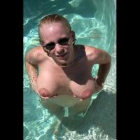 Ari in the Pool