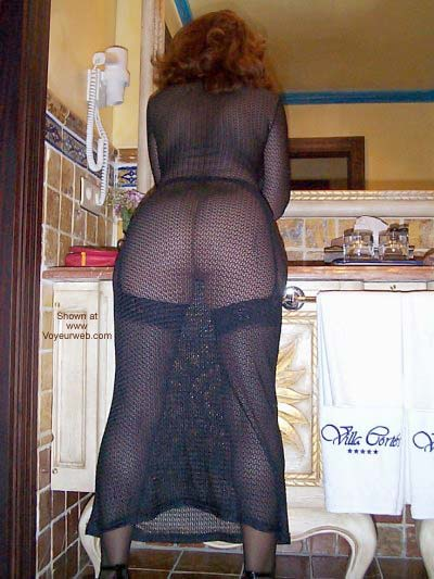 Pic #1 See Thru Dress and Stockings