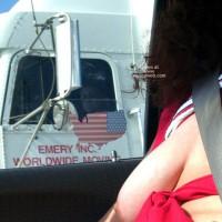 Misti's First @ Truck Flashing