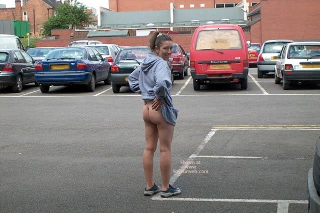 Pic #1 Wife in Car Park
