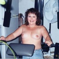 Tonya  In The Gym