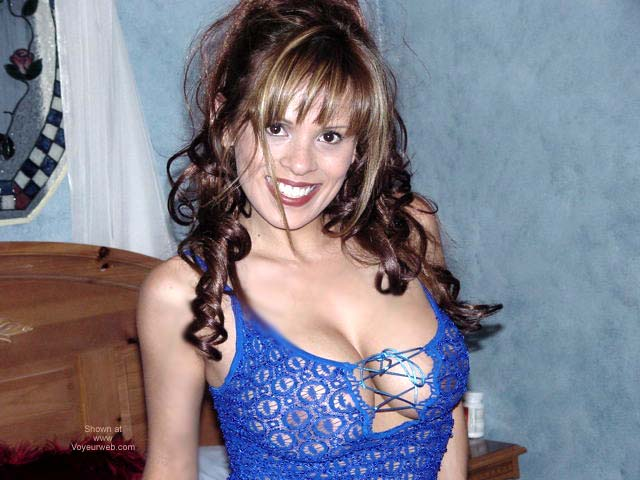 Pic #1 Wet Eyvette Blue Dress