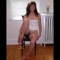Laila White Panties & Corset