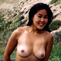 Asian GF Lani Nude at Blacks Beach 2
