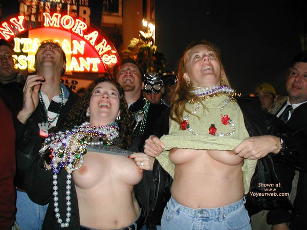 Pic #1 Bourbon Street Boobs
