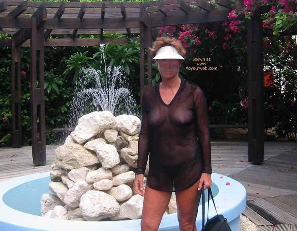 Pic #1 Renee's Vacation Transparent Top - P&P