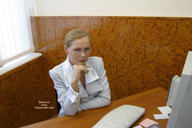 Pic #1Office Girl