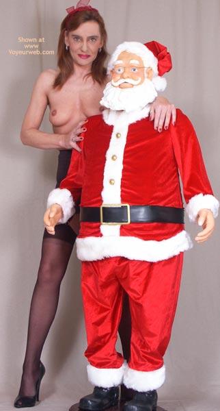 Pic #1 Susy Rocks Teasing Santa
