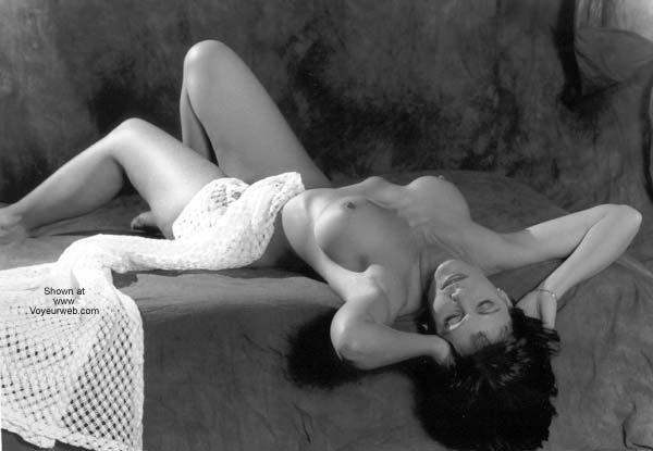 Pic #1 Breasts in Black and White!