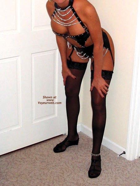 Pic #1 Classy Wife's Black Teddy