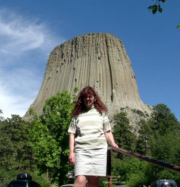 Pic #1 Misti @ Devil's Tower